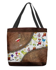 Cocktails All-over Tote back