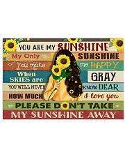You are my sunshine 17x11 Poster front