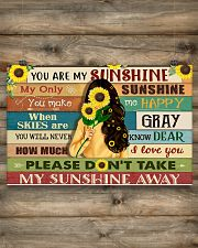 You are my sunshine 17x11 Poster poster-landscape-17x11-lifestyle-14