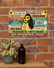 You are my sunshine 17x11 Poster poster-landscape-17x11-lifestyle-23