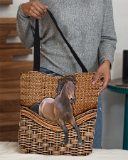 Horse lover All-over Tote aos-all-over-tote-lifestyle-front-10