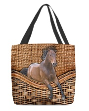 Horse lover All-over Tote back