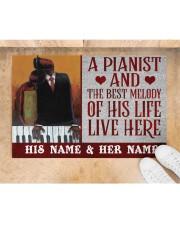 """the pianist Doormat 22.5"""" x 15""""  aos-doormat-22-5x15-lifestyle-front-05"""
