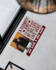 """the pianist Doormat 22.5"""" x 15""""  aos-doormat-22-5x15-lifestyle-front-08"""