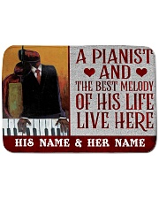 "the pianist Bath Mat - 24"" x 17"" thumbnail"