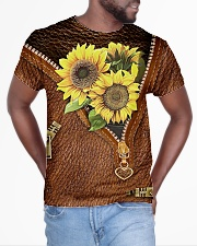 Sunflowers All-over T-Shirt aos-all-over-T-shirt-lifestyle-front-04