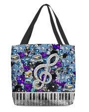 Music Tote  All-over Tote back