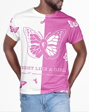 Pink and black shirt All-over T-Shirt aos-all-over-T-shirt-lifestyle-front-04