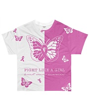 Pink and black shirt All-over T-Shirt front