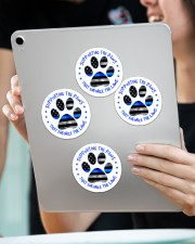 Supporting the paws Sticker - 4 pack (Vertical) aos-sticker-4-pack-vertical-lifestyle-front-11
