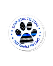 Supporting the paws Sticker - 4 pack (Vertical) front