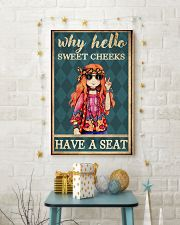 Sweet cheeks have a seat  11x17 Poster lifestyle-holiday-poster-3