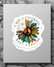 I got a peaceful easy feeling Sticker - 4 pack (Vertical) aos-sticker-4-pack-vertical-lifestyle-front-09