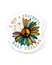 I got a peaceful easy feeling Sticker - 4 pack (Vertical) front
