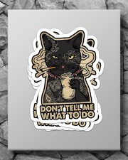 on't tell me what to do Sticker - 4 pack (Vertical) aos-sticker-4-pack-vertical-lifestyle-front-09