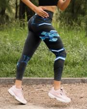 Autism Awareness  High Waist Leggings aos-high-waist-leggings-lifestyle-15