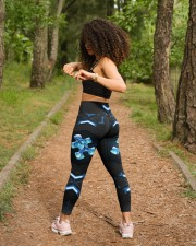 Autism Awareness  High Waist Leggings aos-high-waist-leggings-lifestyle-17