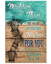 Mightier than the waves 11x17 Poster front