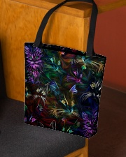 Cat neon  All-over Tote aos-all-over-tote-lifestyle-front-02