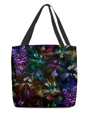 Cat neon  All-over Tote back
