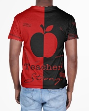 Red and black shirt All-over T-Shirt aos-all-over-T-shirt-lifestyle-back-02