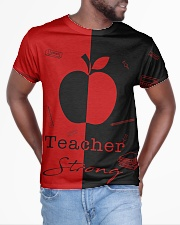 Red and black shirt All-over T-Shirt aos-all-over-T-shirt-lifestyle-front-04