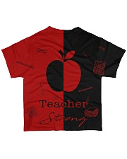 Red and black shirt All-over T-Shirt back