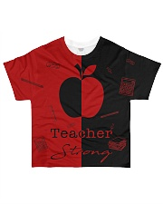 Red and black shirt All-over T-Shirt front