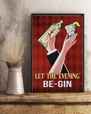 Let the evening begin 11x17 Poster lifestyle-poster-3