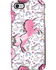 Unicorns - Printed phone case Phone Case i-phone-8-case