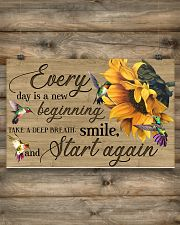 Every day is a new beginning 17x11 Poster poster-landscape-17x11-lifestyle-14