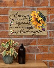 Every day is a new beginning 17x11 Poster poster-landscape-17x11-lifestyle-23