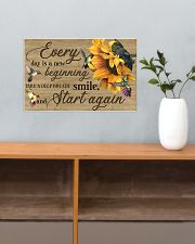 Every day is a new beginning 17x11 Poster poster-landscape-17x11-lifestyle-24