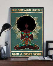 She got mad hustle 11x17 Poster lifestyle-poster-2