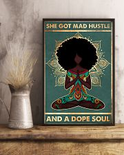 She got mad hustle 11x17 Poster lifestyle-poster-3