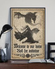 Welcome to our home 11x17 Poster lifestyle-poster-2