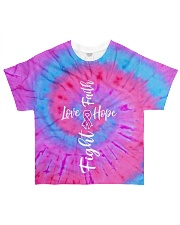Faith Hope Love Fight All-over T-Shirt front