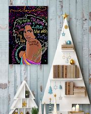 I love my curls 11x17 Poster lifestyle-holiday-poster-2