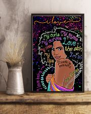 I love my curls 11x17 Poster lifestyle-poster-3