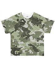 Dragon camouflage All-over T-Shirt front
