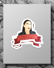 They'll tell you're too loud Sticker - 4 pack (Vertical) aos-sticker-4-pack-vertical-lifestyle-front-09