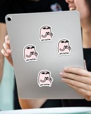 You matter Sticker - 4 pack (Vertical) aos-sticker-4-pack-vertical-lifestyle-front-11