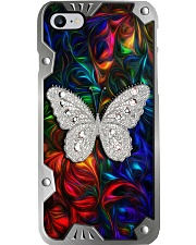 Colorful Butterfly Metal Pattern Print  Phone Case i-phone-8-case