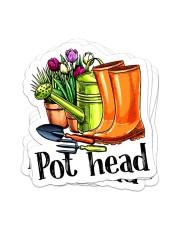 Pot head Sticker - 4 pack (Vertical) front