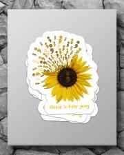Sunflower sticker Sticker - 4 pack (Vertical) aos-sticker-4-pack-vertical-lifestyle-front-09