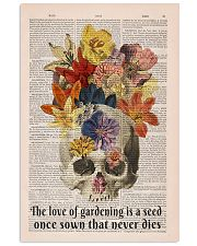 The love of gardening 11x17 Poster front