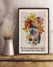 The love of gardening 11x17 Poster lifestyle-poster-3
