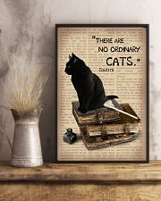There are no ordinary cats 11x17 Poster lifestyle-poster-3