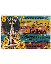 Always remember you are 17x11 Poster front