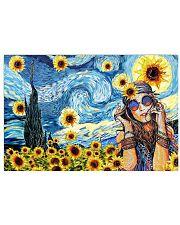 Sunflower girl 17x11 Poster front